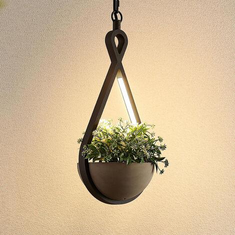 Lucande Florka lámpara colgante exterior LED