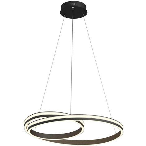 Lucande Gwydion lámpara colgante LED, 80 cm