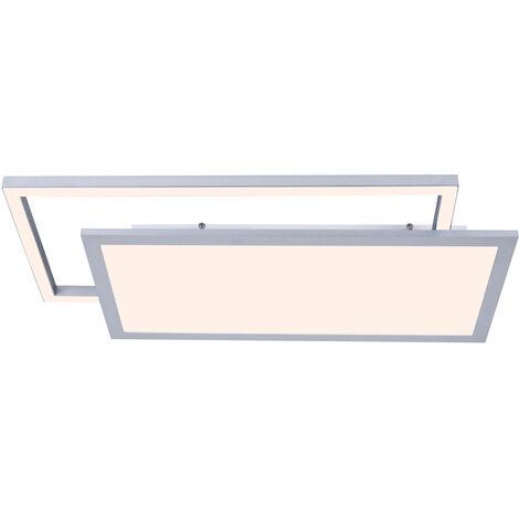 Lucande Senan plafón LED, rectángulos