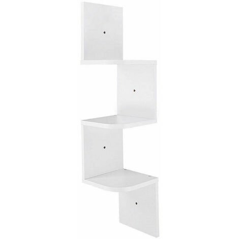 Lucca Tier Wall Mounted Corner Shelf