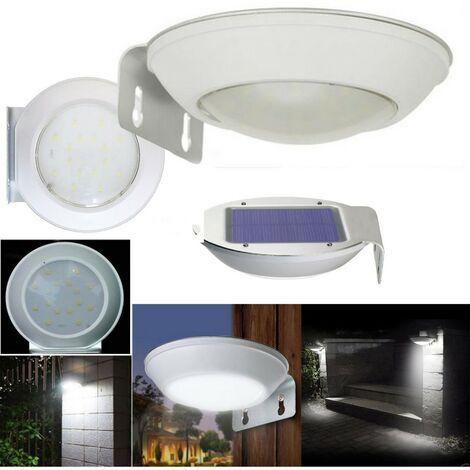 Luce Per Esterno Con Pannello Solare.Luce 16 Led Smd Pannello Solare Ricaricabile Da Giardino Per