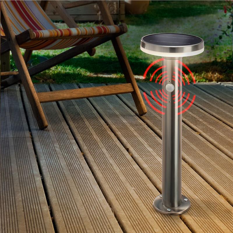 Luce di percorso ad energia solare,altezza 45 cm Piantana. Lampada solare da giardino 102594