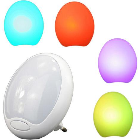 Luce Lampada Lampadina Notturna a LED con Illuminazione In Dissolvenza 7 Colori