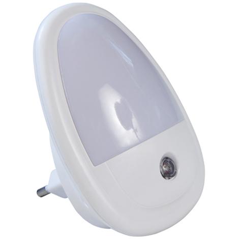 Luce Lampada Notturna 2 LED Accensione Automatica Notte 0,5W Colori Assortiti