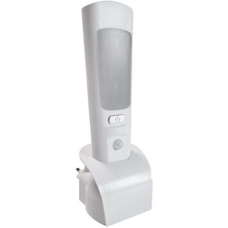 Luce notturna LED con sensore di movimento Müller Licht Casto 27700012 LED a montaggio fisso Potenza: 2 W Bianco lu