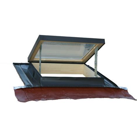 Lucernaio finestra per tetto orizzontale modello tecno for Finestra nel tetto