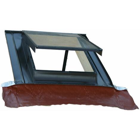 Lucernario-finestra per tetto verticale modello Top in alluminio TECNOMETAL