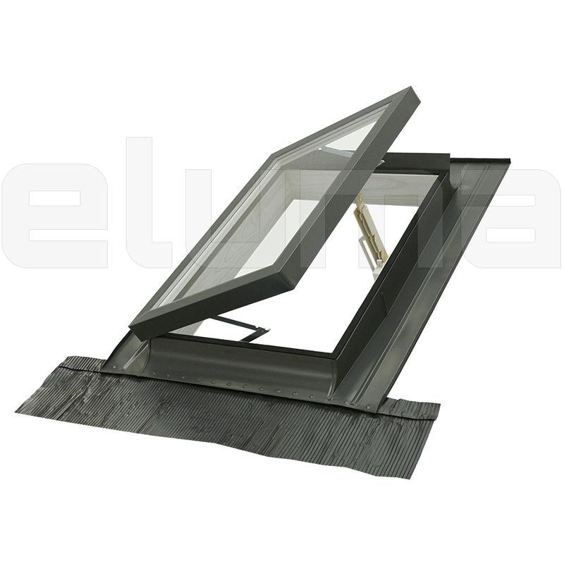 Lucernario Finestra per tetti CLASSIC LIBRO 48x72 Apertura tipo Velux
