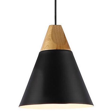 Luces de barra de luces colgantes modernas, luces de techo de cocina, iluminación de araña para el hogar (1PCS, negro)