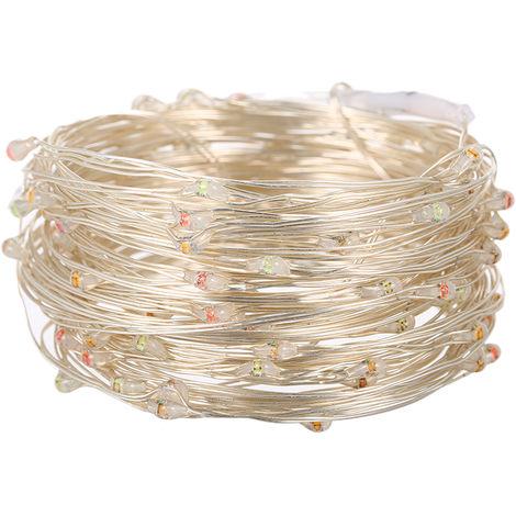 Luces de cadena de m¨²sica activadas por sonido USB, 32.81pies/10m,100 LED,Colorido