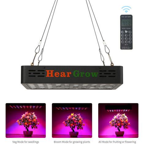 Luces de cultivo LED, planta de luz de cultivo de panel LED de espectro completo