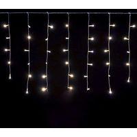 a52c25d9696 Luces de Navidad Cortina 96 LED 561283 LUZ FRÍA exterior 3 mt x 0.6 cm