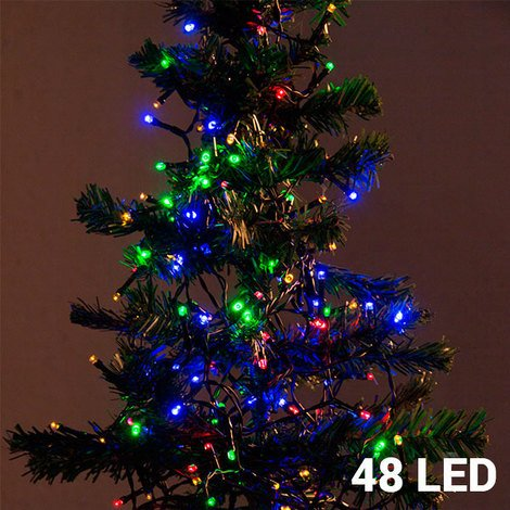 Luces De Navidad Multicolor (48 Led)