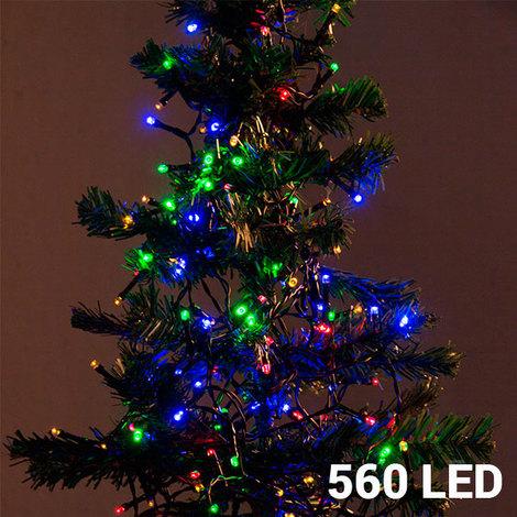 Luces De Navidad Multicolor (560 Led)