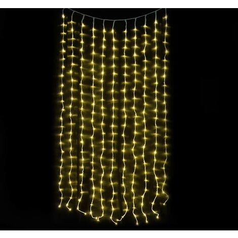 Luces de Red de 400 LED Lámpara de LED Navidad