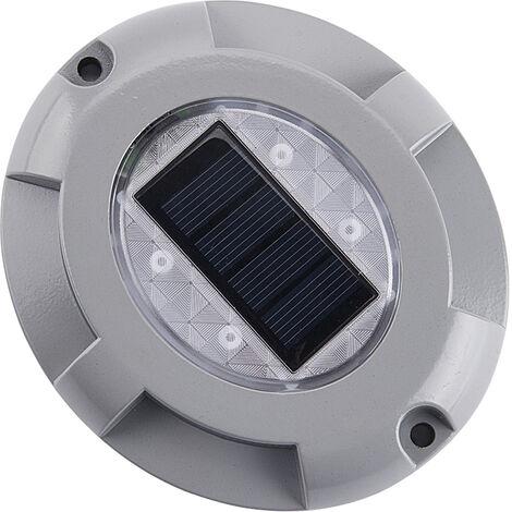 Luces solares para terraza, luz de entrada de 4 LED