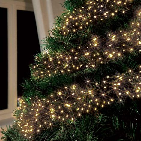 Immagini Di Luci Di Natale.Luci Di Natale Esterno Led Energia Solare Batteria Lunga Durata Pannello 50 Led Albero Balcone Giallo