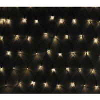 Luci Natale LED a rete 3 x 1 m., per interni ed esterni