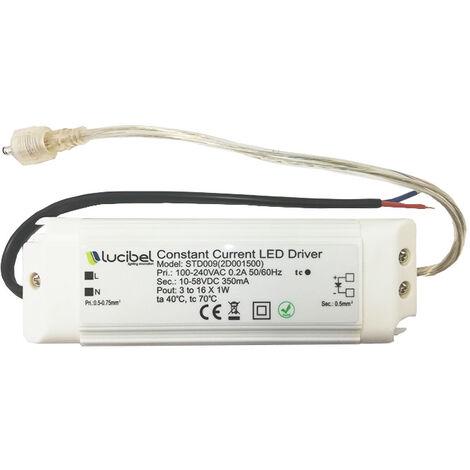"main image of ""Lucibel STD009 Driver LED de 3 à 16W 350mA"""