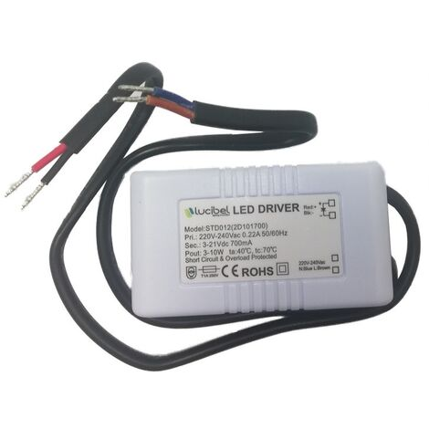 "main image of ""Lucibel STD012 Driver LED standard 3 à 10W max (700mA)"""