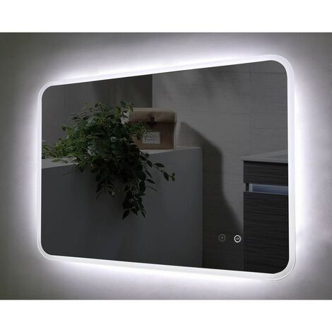 Lucina 1200mm x 700mm Rectangular LED Bluetooth Mirror