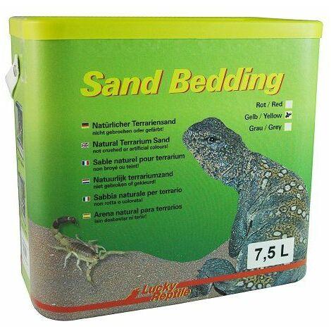 Lucky Reptiles - Sand Bedding Jaune 7.5 Litres