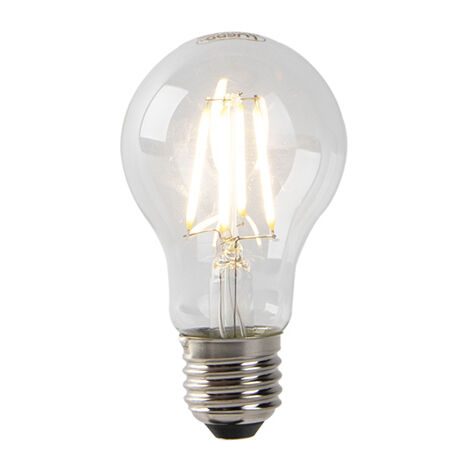 LUEDD Bombilla E27 filamento LED A60 sensor crepuscular 4W 350 lm 2700 K