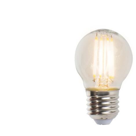 LUEDD Bombilla filamento E27 LED regulable P45 5W 470lm 2700K