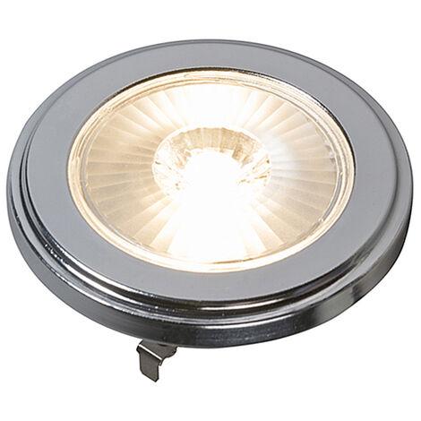 LUEDD Bombilla G53 LED regulable AR111 10W 800LM 3000K