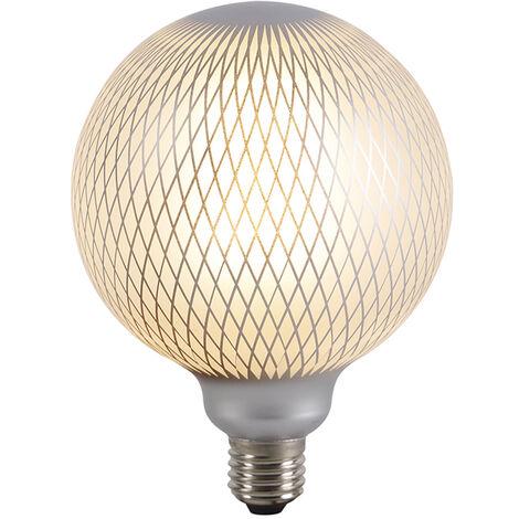 LUEDD Bombilla globo de filamento LED regulable E27 DECO 4W 320 lm 2700K