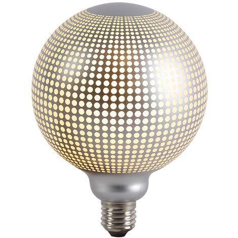 LUEDD Bombilla globo filamento LED regulable E27 DECO 4W 240lm 2700K