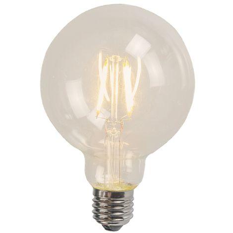 LUEDD Bombilla globo LED filamento E27 4W 470LM 2700K