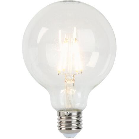 LUEDD Bombilla LED E27 5W 450lm 2700K regulable globo