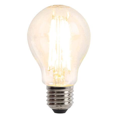 LUEDD Bombilla LED E27 regulable 3 pasos 6W 480 lm 2700K