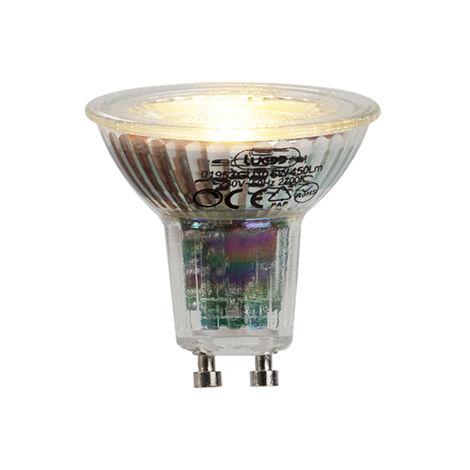 LUEDD Bombilla LED GU10 6W 450lm 2700K regulable