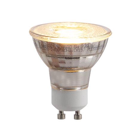 LUEDD Bombilla LED GU10 regulable-3-pasos-2000-2700 Kelvin 5W