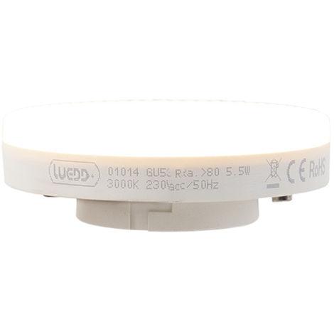 LUEDD Bombilla LED GX53 5.5W 470 lumen 3000K