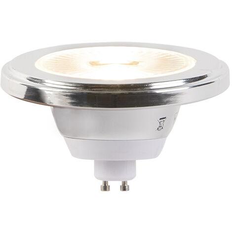 LUEDD Bombilla LED regulable 3 pasos GU10 AR111 5.5W 2700K