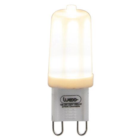 LUEDD Bombilla LED regulable G9 3W 280 lm 2700K