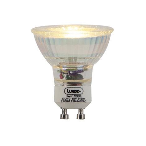 LUEDD Bombilla LED regulable GU10 3-estados-regulable 5W 345lm 2700K