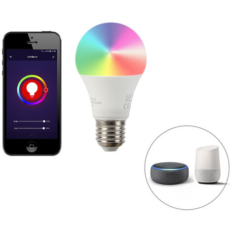 LUEDD Bombilla LED Smart E27 regulable 2200-4000K A60 9W 700lm
