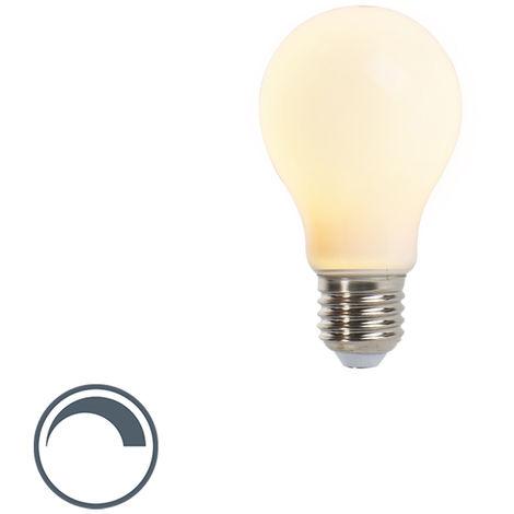 LUEDD Lámpara LED regulable E27 A60 mate 5W 410lm
