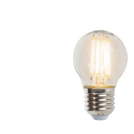 LUEDD Set 3 bombillas bola LED filamento regulables E27 P45 5W 470lm