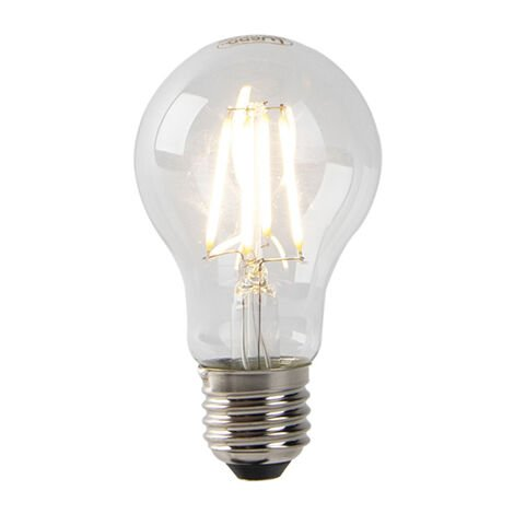 LUEDD Set 3 bombillas filamento LED E27 crepuscular 2700 K