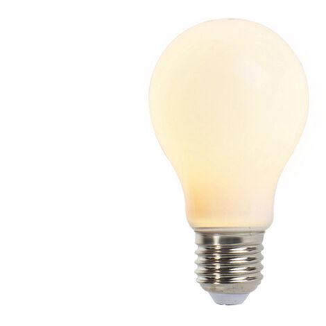 LUEDD Set 3 bombillas LED E27 mate 5W 410lm 2350K regulables