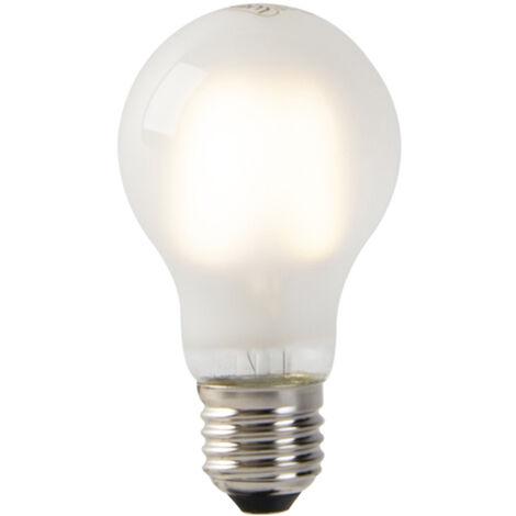 LUEDD Set 5 bombillas filamento LED E27 vidrio esmerilado A60 2W 200lm 2700K