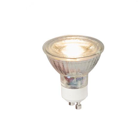 LUEDD Set 5 bombillas LED GU10 COB 5W 380Lm 3000K