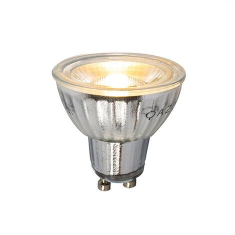 LUEDD Set de 5 bombillas LED regulables GU10 7W 500LM 2700K