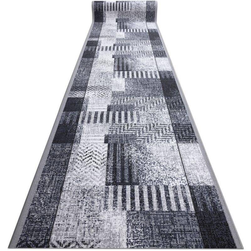 Läufer Antirutsch ESSENZA grau 120 cm Grau und Silbertönen 120x1400 cm