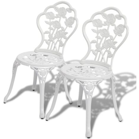 Lugenia Garden Chair by Dakota Fields - White